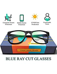 SILVERCARE Blue Ray Cut UV420 and Anti-reflection unisex Wayfarer Computer Protection spectacle