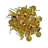 1008MM blanko Pad Ohrstecker Ohrring Post Peg Pin DIY Making Findings 6Farben-Gold