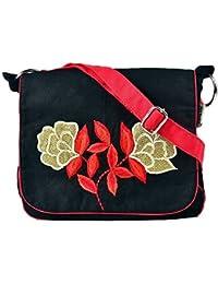 Pick Pocket Girls Sling Bag (Black) (SLGolfloblk180)