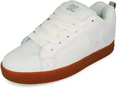 DC Shoes Court Graffik Sneakers Hommes Bianco - 44 - Sneakers Basse