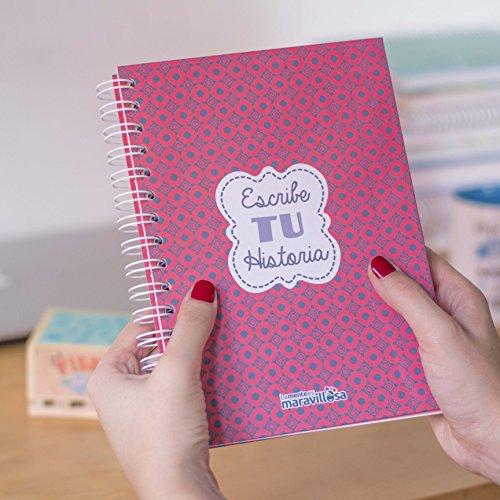 La mente es maravillosa-Cuaderno A5-Regalo para amiga con dibujos- HISTORIA-ESP