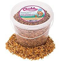 Chubby Mealworms Dried River Shrimp, 5 Litre