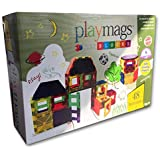 Playmags Magnetic Tiles Building Acessories Set (48-Piece)