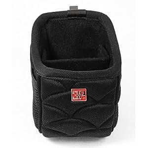 Car Air Vent 2 Pockets Storage Bag Pocket Cell Phone Holder Black