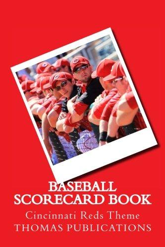Baseball Scorecard Book: Cincinnati Reds Theme por Thomas Publications