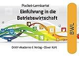 Pocket-Lernkartei Betriebswirtschaft: Eine Einführung in die allgemeine Betriebswirtschaftslehre auf 220 Karteikarten Lerninhalt: Grundlegende ... strategische Unternehmensplanung u.v.a.