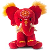 Pink Chillies 25cm Dahong Cuddly Elephant Plush Toy
