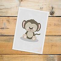 Postkarte Dreamchen Kinderzimmer Deko Affe