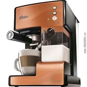 Oster BVSTEN6601C-049 1050-Watt Prima Espresso and Latte Maker (Copper)
