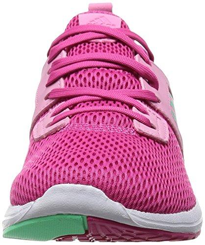 adidas Durama W, Scarpe da Corsa Donna, Rosa, 38.5 EU Multicolore (Pink / Grey - EQTROS/BRIVER/SEBRRO)
