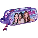 VIOLETTA Double trousse pencil case 21 cm