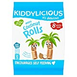 Kiddylicious Coconut Rolls 56G