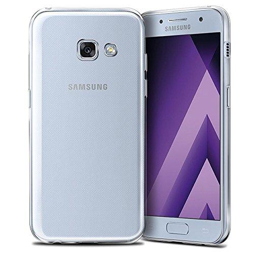 ELECTRÓNICA REY Funda Carcasa Gel Transparente para Samsung Galaxy A3 2017,...