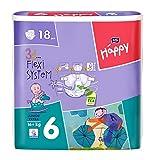 Bella Baby Happy Windeln Größe 6 Junior Extra (16+ kg) 108 Windeln (6 x 18 Stück)