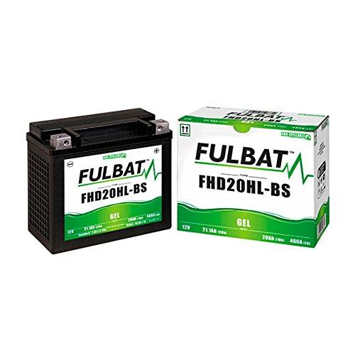 Fulbat - Batteria moto Gel FHD20HL-BS/ETX20L 12V 20Ah