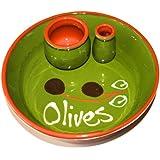 Graupera Olive Dish in Green (15cm)