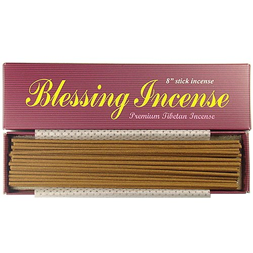 Blessing incenso-8bastoncini di incenso, 100% Naturale, C003T