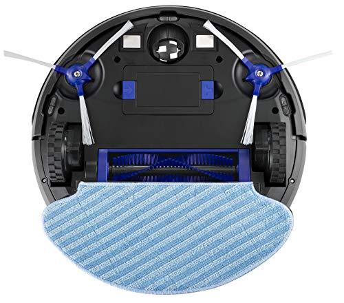 Rowenta Smart Force Essential Aqua RR6971WH -  Robot de aspiración 2 en 1,  aspira y friega,  con sensores anticaída y batería de ión- litio de 150 minutos de autonomía