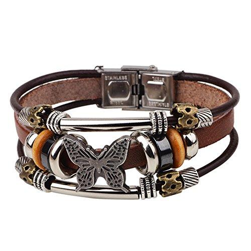 amazingdeal365-bracciale-in-vera-pelle-farfalla-braccialetto-braccialetto-link