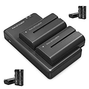 Np F550 Ravpower Camera Battery Charger Set For Sony