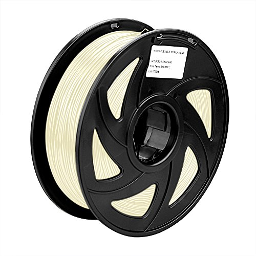 SIENOC 1 Packung 3D Drucker PLA 1.75mm Printer Filament - Mit Spule 1kg (Fluoreszenz)