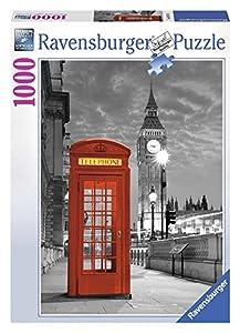 Ravensburger - Puzzles 1000 Piezas, diseño Big Ben y teléfono (19475 9)