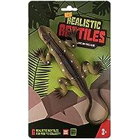 wdx92737-camouflagewhitespot común Lagarto realista y elástico de goma reptil juguete