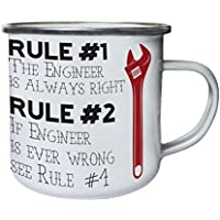 Rule 1 The Geologist is Always Right Stainless Steel Carabiner Travel Mug 11oz cc555c