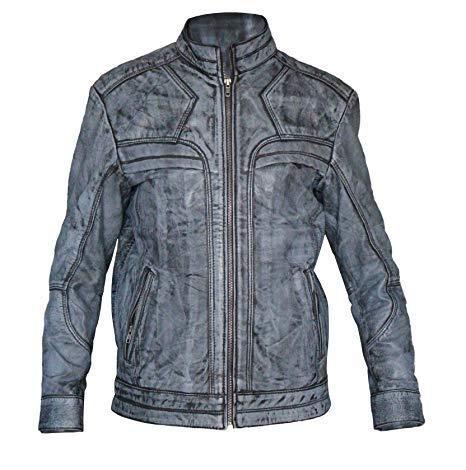 4e07dfae2 Stylish-Leather-Jackets - Giacca - Uomo Nero L