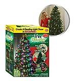 Star Shower Tree Dazzler Weihnachtsbaum-Beleuchtung Lichterkette | In drei einfachen Schritten zum perfekt beleuchteten Weihnachtsbaum | Christbaumbeleuchtung mit 16 Farben und verschiedenen Mustern