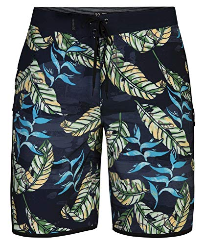 Hurley Herren M Phantom Electric 20' Boardshort, Obsidian, 36
