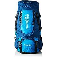 skandika Outdoor Trekking Mochila Bogong, Color Marineblau/Blau, tamaño 54, Volumen Liters
