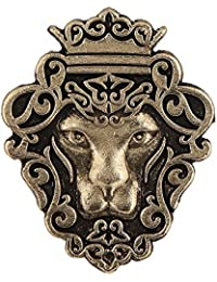 Tripin Lion Shape Tie Tack Lapel Pin Brooch for Men in A Gift Box