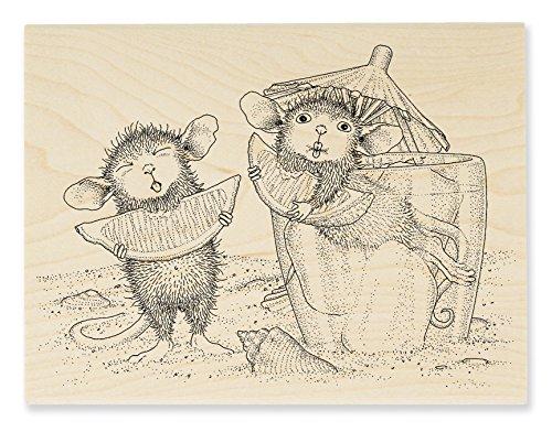 Unbekannt Stampendous House Mouse Holz Stempel, Lemon Sour -