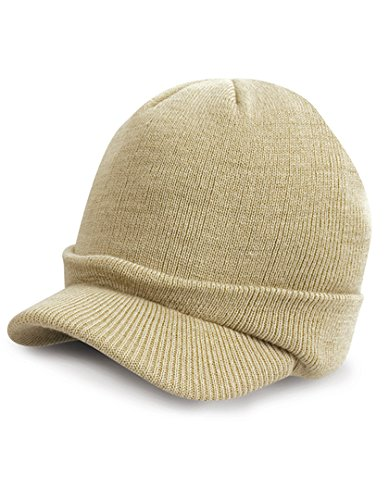 Result Winter Essentials Youth esco Army Knitted Hat - Marron - Taille Unique
