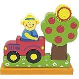 Ulysse Couleurs d'enfance 59701 - Puzle magnético, diseño de la granja