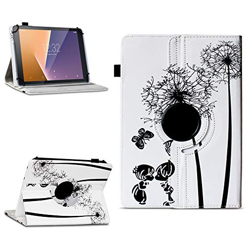 Tasche für Vodafone Tab Prime 7 Tablet Hülle Schutzhülle Case 360° Drehbar Cover, Farben:Motiv 8