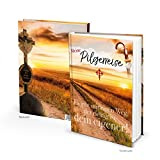 Kleines Tagebuch Notizbuch Pilgern MEIN PILGERBUCH Selber-Schreiben Reisetagebuch - Jakobsweg Pilgerreise Urlaub Reise - Buch DIN A5 Erfahrungen Wandern Reisebericht aufschreiben Reisebuch Wanderbuch