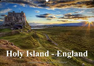 Holy Island - England / UK Version (Wall Calendar 2015 DIN A2 Landscape): Photographic journey across Holy Island (UK) (Month Calendar, 14 pages)