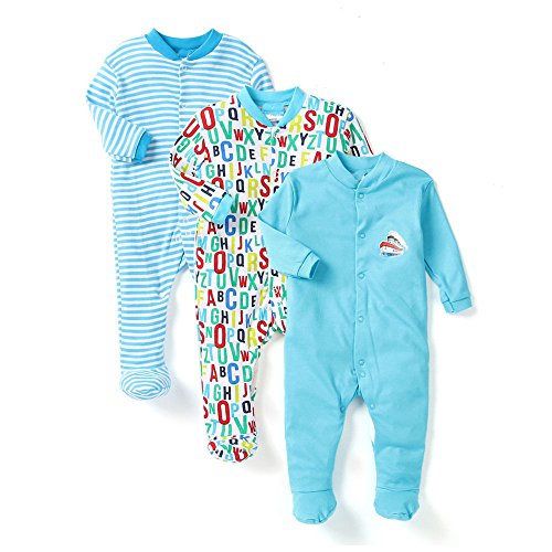 nammababy multi color romper body suite for new born baby pack of 3 (guaranteed offer : free set of 3 nammababy rib pant - 51cnnoDd81L - NammaBaby Multi Color Romper Body Suite for New Born baby Pack Of 3 (GUARANTEED OFFER : FREE SET OF 3 NammaBaby RIB PANT home - 51cnnoDd81L - Home