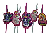 8 tlg. Set Filly Pferd Trinkhalm Geburtstag Kindergeburtstag Geburtstagsdeko