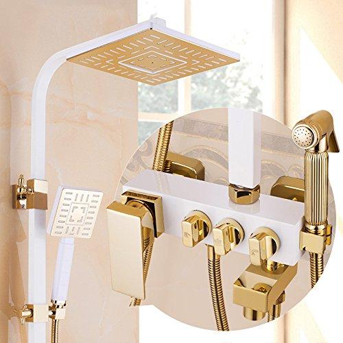GFEI Haushalt Zubehör für das Badezimmer GFEI europäischen Stil Bad Dusche duschen Wasserhahn...