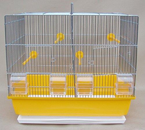Vogelkäfig,Wellensittichkäfig,Exotenkäfig Vogelbauer Wellensittich Kanarien Vogelhaus Käfig