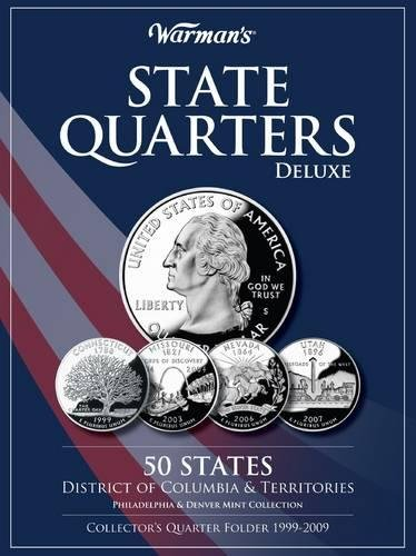 Quarters Series State (State Quarters 1999-2009 Deluxe Collector's Folder: District of Columbia and Territories, Philadelphia and Denver Mints)