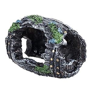 DIGIFLEX Aquarium Pet Fish Tank Barrel Ornament
