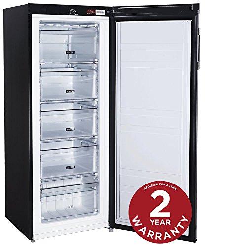 russell-hobbs-freestanding-142cm-tall-freezer-a-rating-157-litre-net-capacity-black-reversible-door-