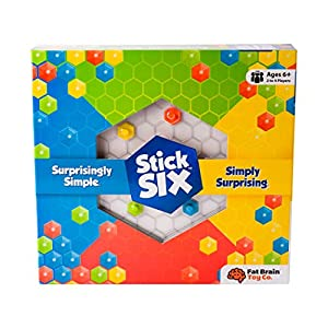 Fat Brain Toys- Stick Six Juego 6 en línea (1)