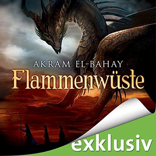 Buchseite und Rezensionen zu 'Flammenwüste' von Akram El-Bahay