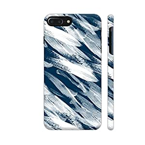 Colorpur iPhone 7 Plus Cover - Strokes Blue Printed Back Case