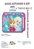 Maxi Astuccio Scuola Avengers, Frozen, Spiderman, Elsa (Contiene Giotto Turbo MAXI) (FROZEN)